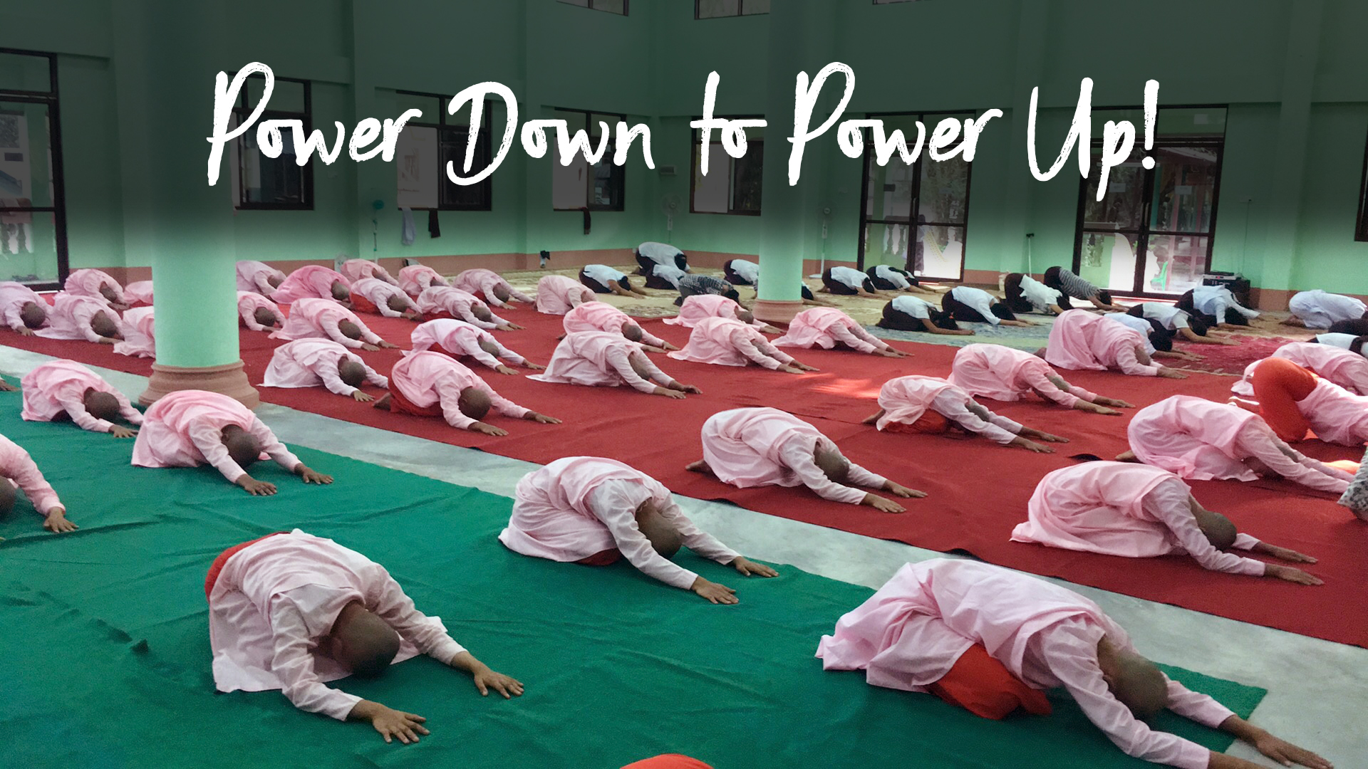 power down to power up